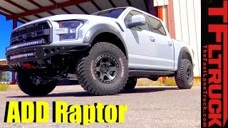 2017 Ford Raptor Gets a Addictive Desert Design Extreme Off-Road Makeover