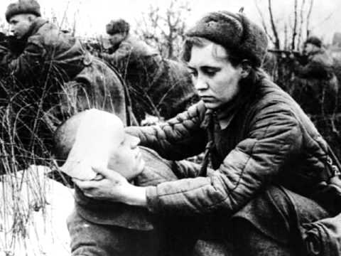 Екатерина Гусева - Вальс фронтовой медсестры. - YouTube