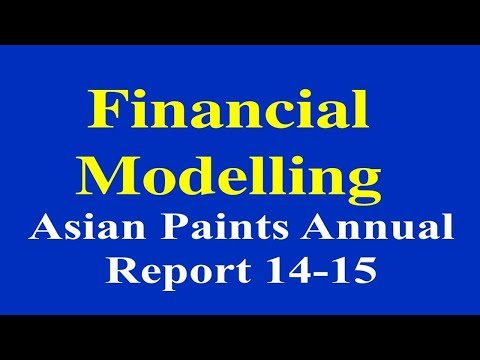 Online Financial Modelling Program-Analysis of Asian Paints Annual Report- 2014-15