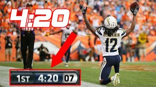 "NFL ""4:20"" Touchdowns"