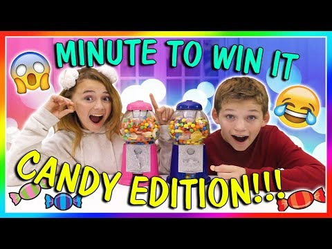 MINUTE TO WIN IT  CANDY EDITION  We Are The Davises