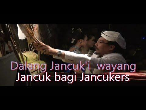 Wayang Jancuk'i ala Sujiwo tejo ; Full humor, pesan jati diri melawan Radikalisme ( Rada serius )