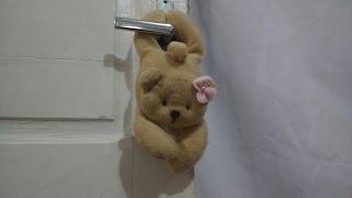 Ursinho enfeite de maçaneta