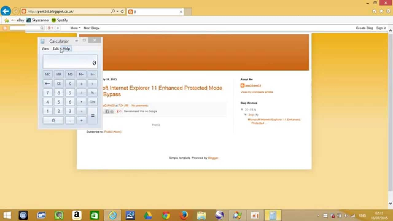How to disable epm in internet explorer - Ie11 Enhanced Protected Mode Epm Sandbox Escape
