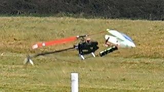 RC HELICOPTER CRASH !!! Yanick Wolter with Soxos 800 ROTOR LIVE 2015 Iffezheim *1080p50fpsHD*