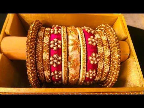 New Designer Kundan Stone Work Bangles || latest design metalic bangles online