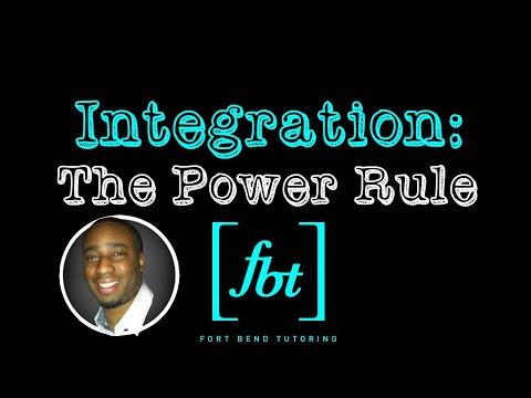 Integration: The Power Rule [fbt]