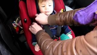 Vlog 07 : Maxi Cosi AxissFix autostoel installeren en testen