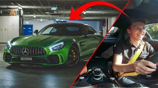 Řídil jsem zelenou bestii! | MERCEDES AMG GT R
