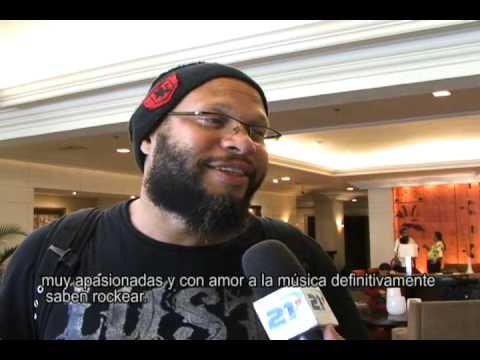 Guns n Roses en El Salvador, Entrevista a Frank Ferrer, Baterista
