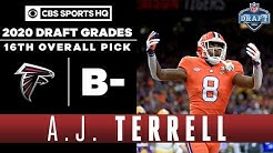 Falcons make a DESPERATION PICK in A.J. Terrell at 16 | 2020 NFL Draft | CBS Sports HQ