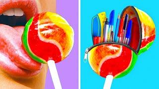 USEFUL SCHOOL HACKS! || School Supply Ideas by 123 Go! Genius