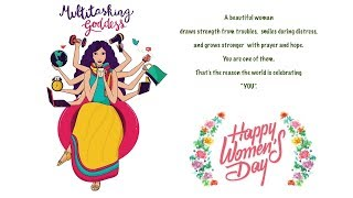 We wish all women out there a very happy women's day !! enjoy your 👍 visit us at : http://www.cookingflavors.comcontact rampriya@cookingflavors....