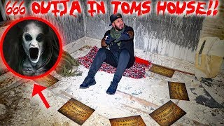 THE 666 OUIJA BOARD CHALLENGE IN TOMS HAUNTED HOUSE! GHOST CAUGHT ON CAMERA | MOE SARGI