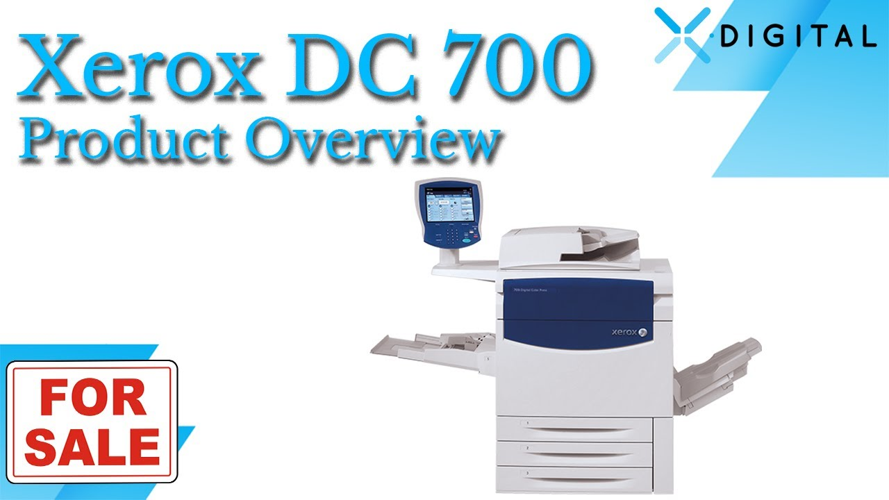 XEROX Printer DocuColor Office 6 Drivers (2019)