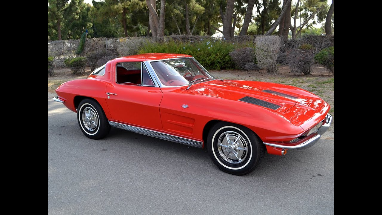 Split Window Corvette >> SOLD 1963 Corvette Split Window Coupe for sale by Corvette Mike Anaheim, CA - YouTube