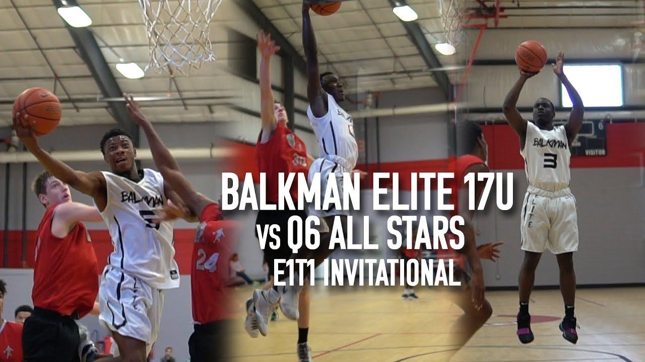 Balkman Elite 17s Vs Q6 All Stars