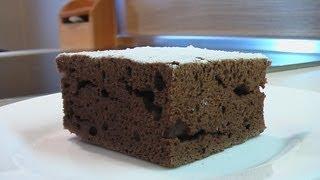 Шоколадный кекс за 35 минут. Очень вкусно!(Сайт проекта:http://www.videocooking.ru Мука 250 г. Сахар 150 г. Яйца 4 шт. Растительное масло 100 г. Какао 30 г. Ванильный сахар..., 2012-11-24T13:07:13.000Z)