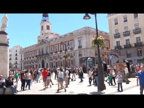(3D) Madrid Downtown - Royal Palace, Opera, Puerta del Sol, Preciados Full HD 1080i
