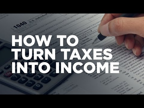 How to Turn Taxes into Income - Cardone Zone