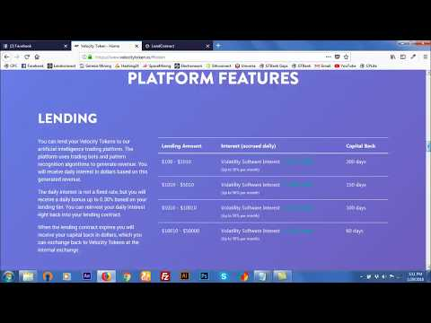 Velocity Token ICO Reviews