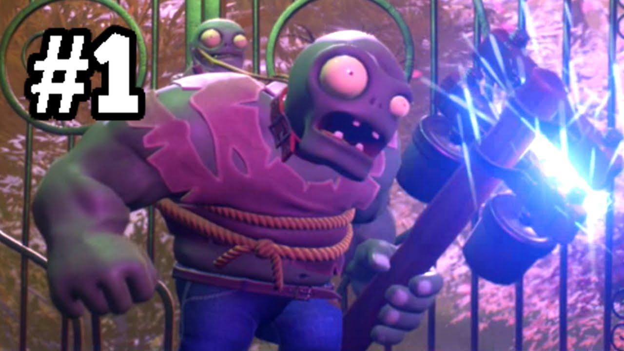 Plants vs  Zombies GARDEN WARFARE 2 Beta PART 1 [Gargantuar Boss]