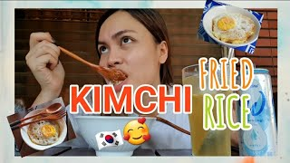 My Kimchi Fried Rice Recipe (vlog no.58)