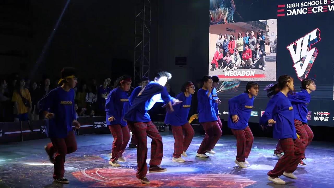 Top 4 Battle Megadon  vs FAME Crew| Highschool Best Dance Crew 2020