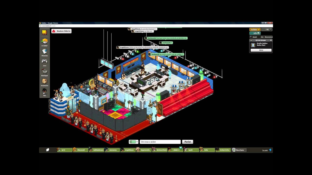 habbo radio officiel interview n 1 part 1 2 youtube