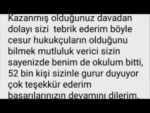 (Ahmet Salgut) Okula karşı kazandığım dava sonrasında bana Facebook üzerinden gelen mesajlar :)