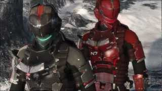 Dead Space 3 - Mass Effect N7 Armor Trailer