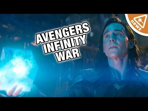 Will Loki Betray Thor in Avengers Infinity War? (Nerdist News w/ Jessica Chobot)
