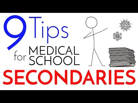 9 Steps to Writing a Stellar Medical School Secondary