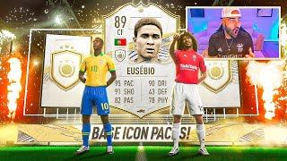 OMG!! 20 OF THE BEST ICON PACKS IN FIFA EVER!! FIFA 21