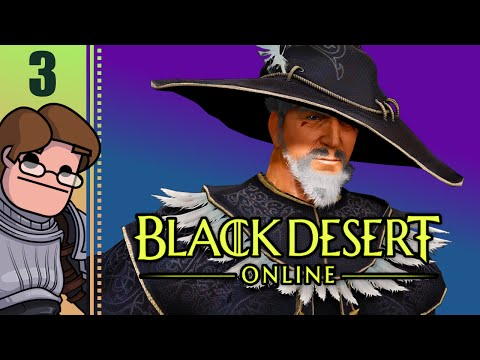 Let's Play Black Desert Online Co-op Part 3 - Real Combat