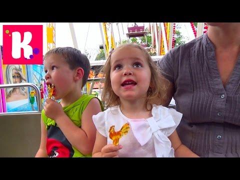 VLOG Парк аттракционов Одесса Лунапарк Amusement Park Lunapark Odessa