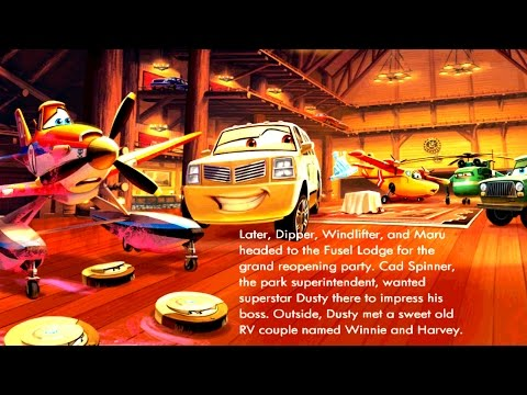 Planes 2 Fire & Rescue | Cars 3 Kids Games Planes Story Book by Disney for Children