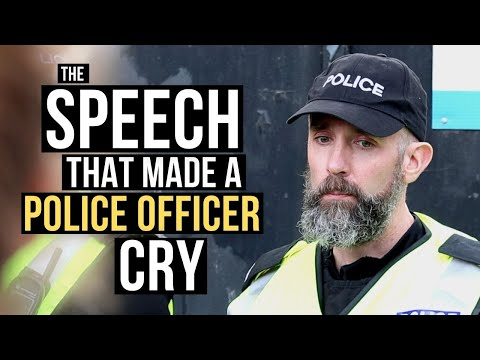 The Speech That Made A Police Officer Cry