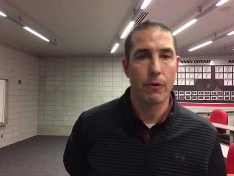 UC coach Luke Fickell on some of the local recruits - YouTube