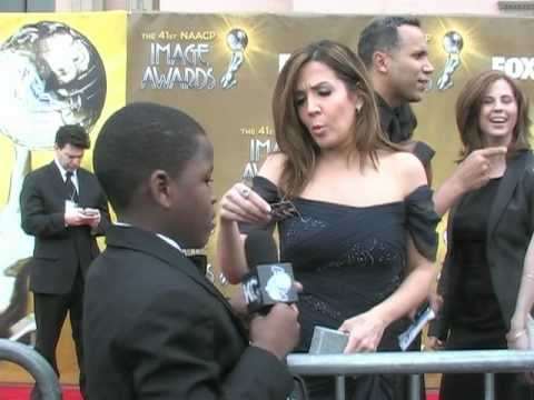 KEC TV  with Wizards of Waverly Place Cast Members at 2010 NAACP  Awards