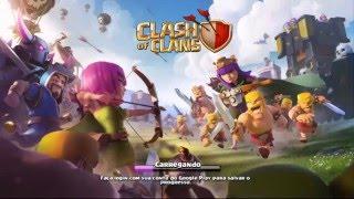 Clash Of Clans: Guerra Zuada Clã Nv 1 contra Nv 5