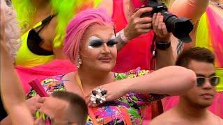 """شاهد: مسيرة """"فخر المثليين"""" في أمستردام"""