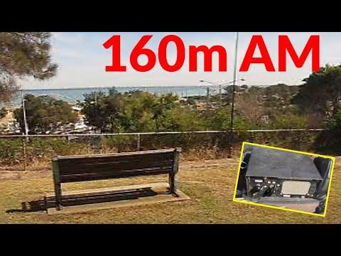 160 metres AM portable from Frankston South