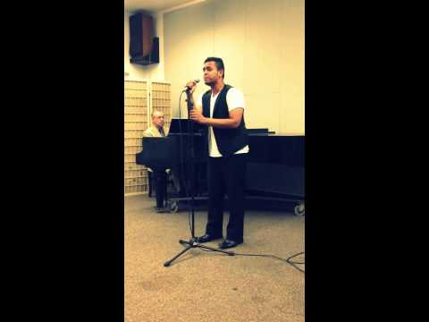 Out Here On My Own (Fame) - Ozias Live