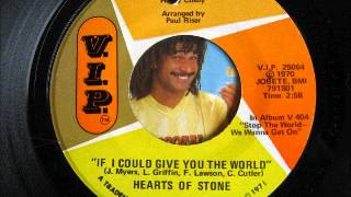 HEART OF STONE-if i could give you the world