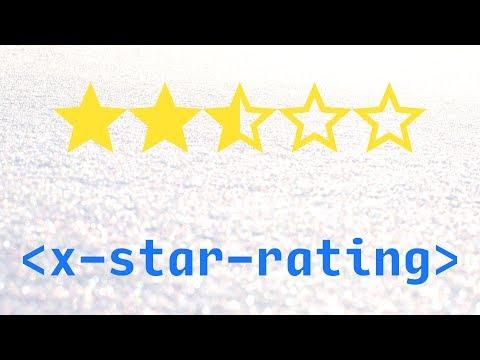 Star Rating Using Custom HTML Elements