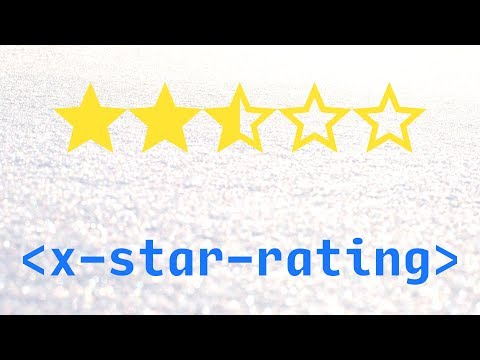 Star Rating Using Custom HTML Elements