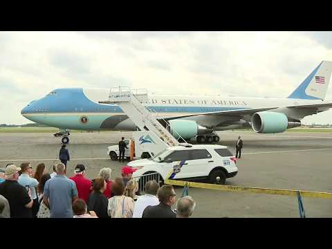 FOX 29 NEWS NOW: President Trump Arrives At Philly International Airport