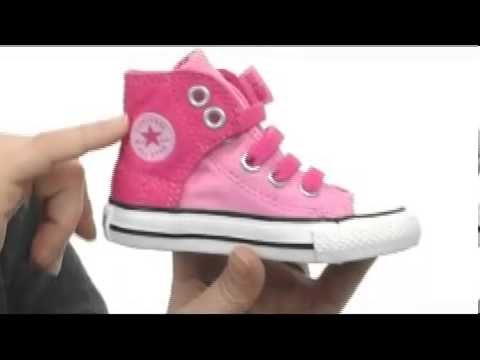 3a75b1f2f02cb6 Converse Kids Chuck Taylor® All Star® Easy Slip Hi (Infant Toddler)  SKU  8035787 - YouTube