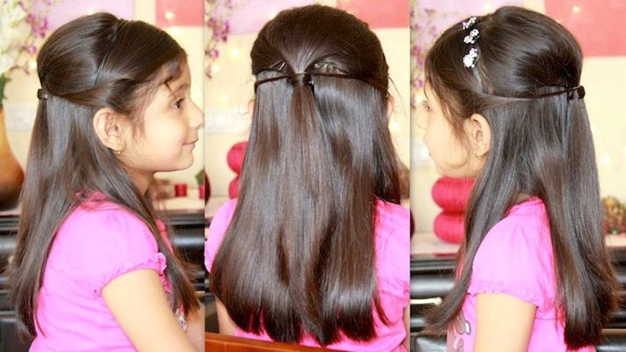 "party hairstyle with ""missanand"" - youtube"